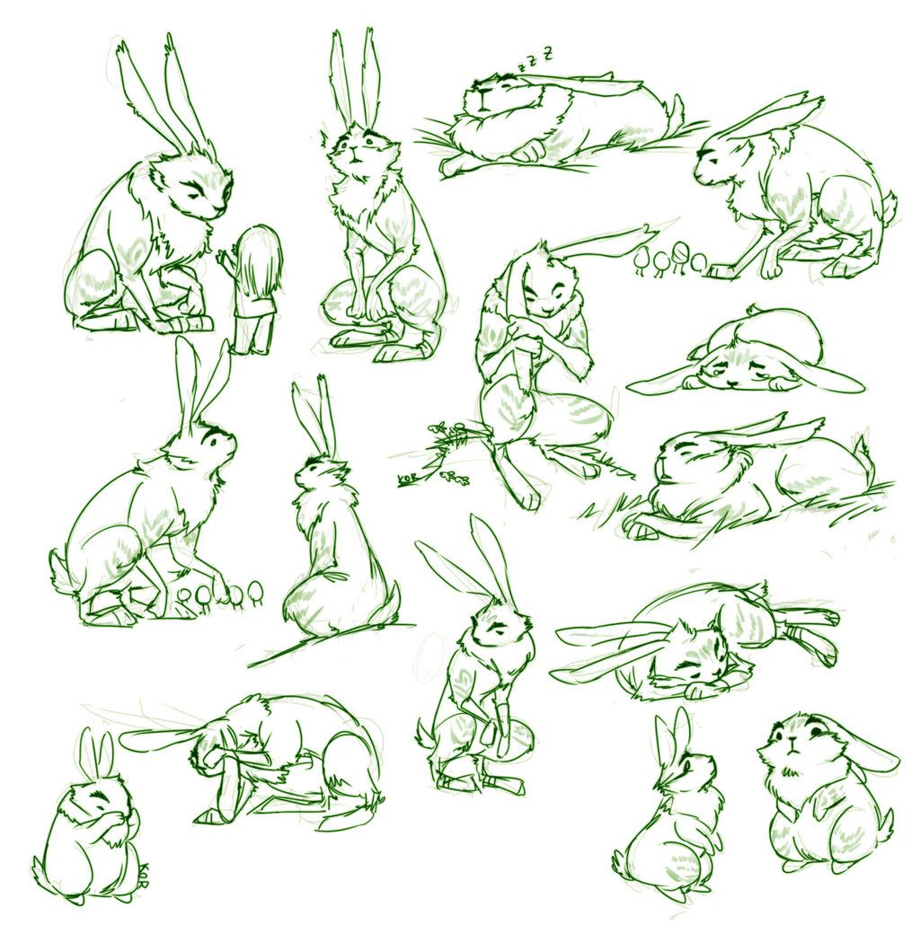 ROTG- bunnymunds by mayukichan.deviantart.com on @deviantART