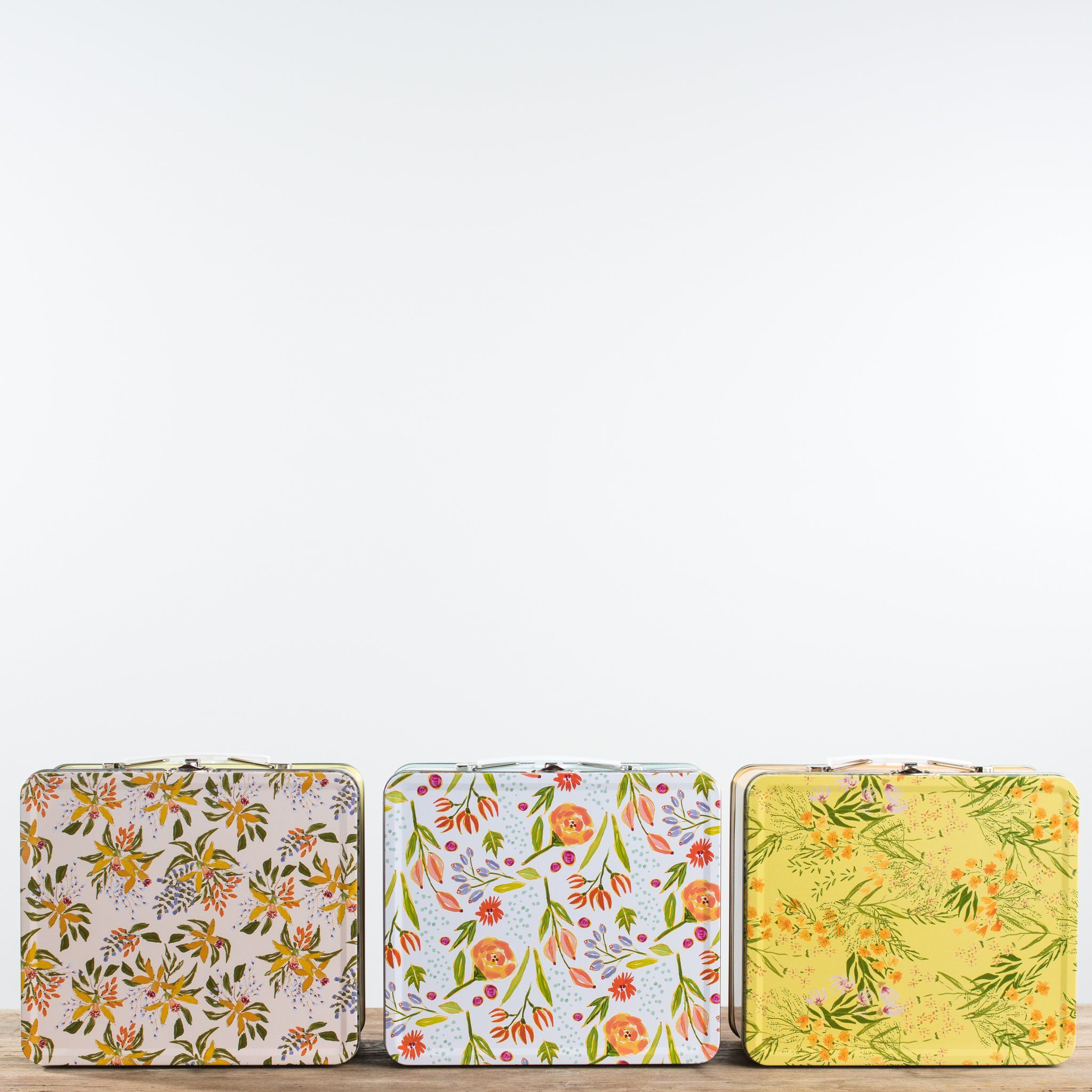 Floral Lunchbox (With Images)