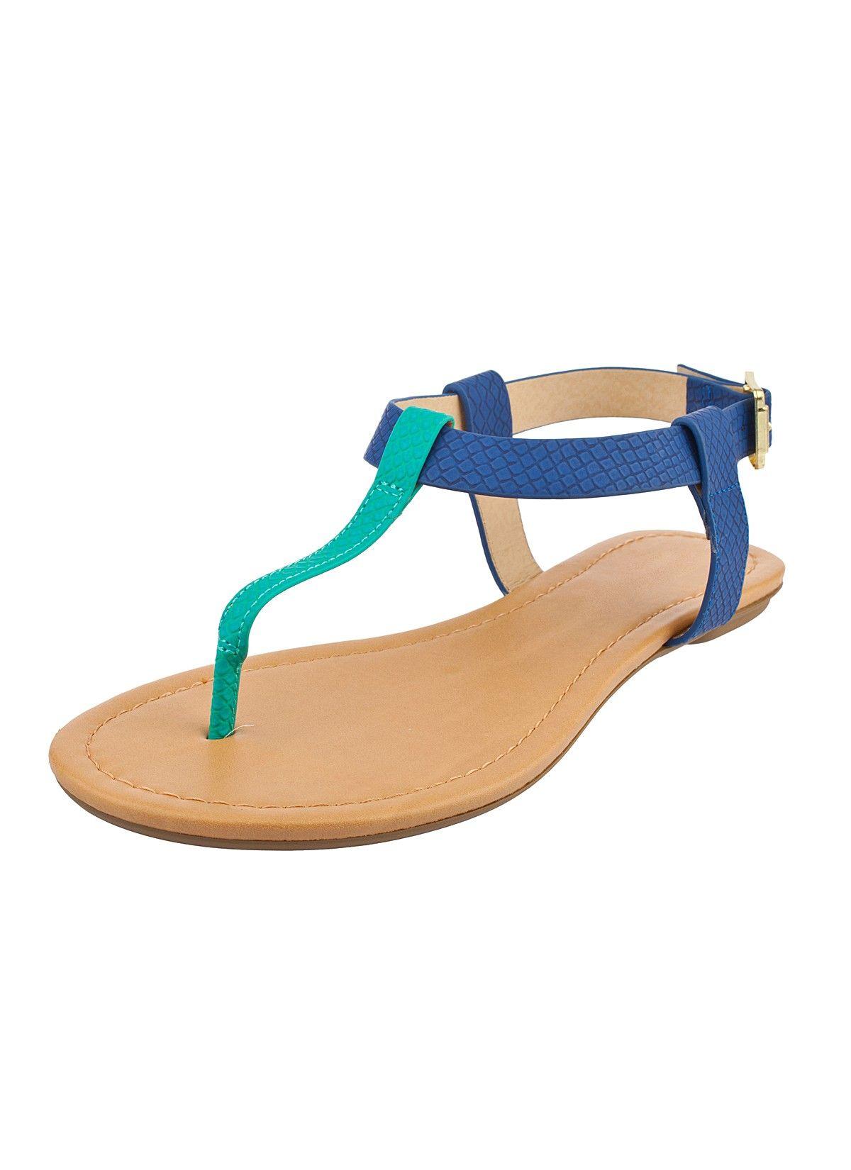 Shop Prima Donna - Sorrel Snakeskin Sandals Cobalt/Turquoise at Prima donna