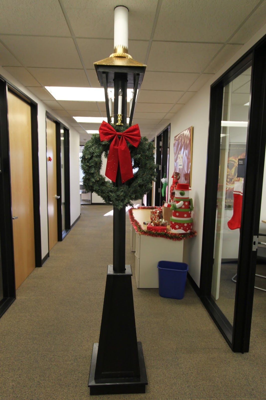 office holiday decorations. The Office Holiday Pole Decorating Contest Decorations A