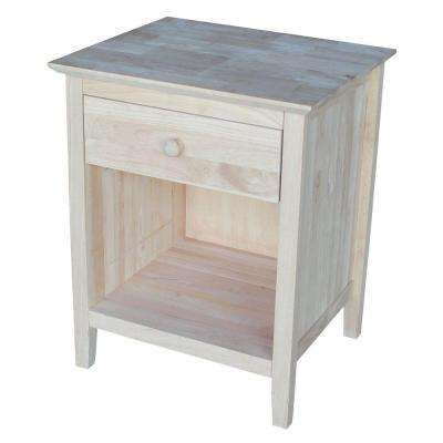 Wood Nightstand Unfinished Furniture, 1 Unfinished Furniture