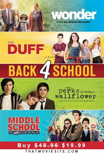 Back 4 School 59 Off Until Jan 16 In 2020 Movie Sites Perks Of Being A Wallflower International Man Of Mystery