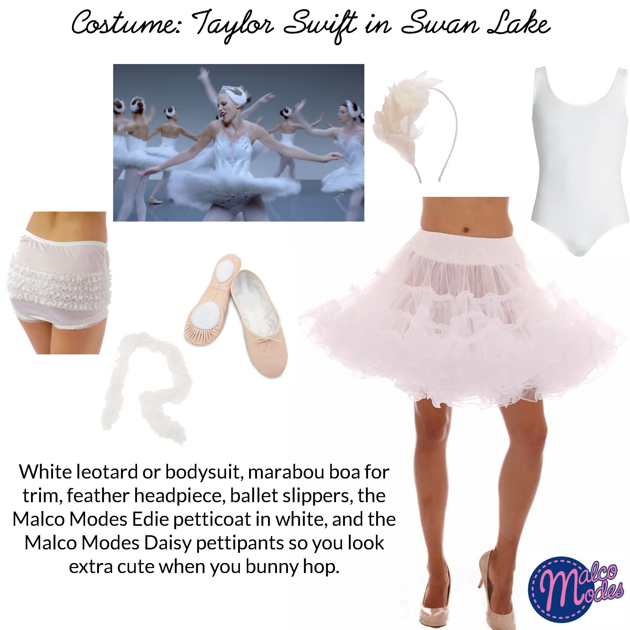 Halloween Costume Idea: Taylor Swift's Swan Lake ballerina in ...