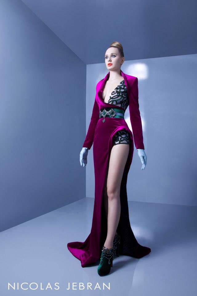 Nicolas Jebran Haute Couture осень-зима 2012-2013