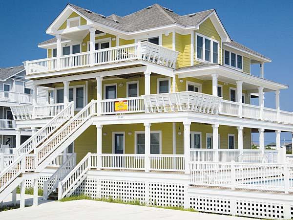 Calypso, 7 bedroom Semi-Sound Front home in Salvo, OBX, NC