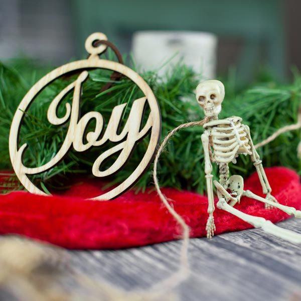 Why Christmas Trees: We Decorate Our Christmas Tree With Skeletons. Here's Why