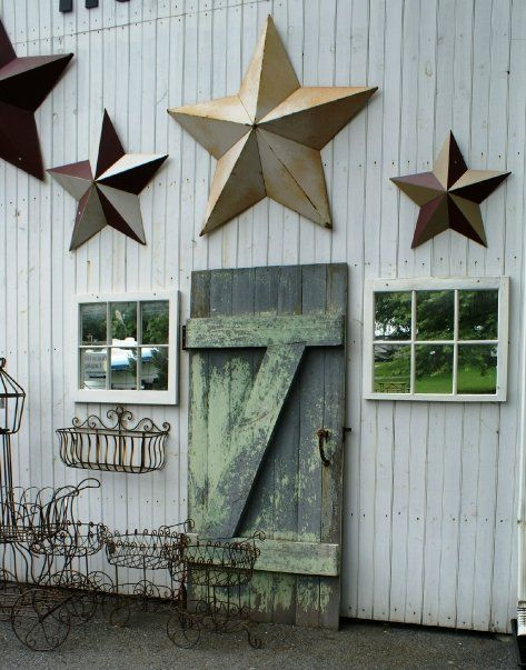 Rustic stars  Rustic star decor, Rustic star, Barn star