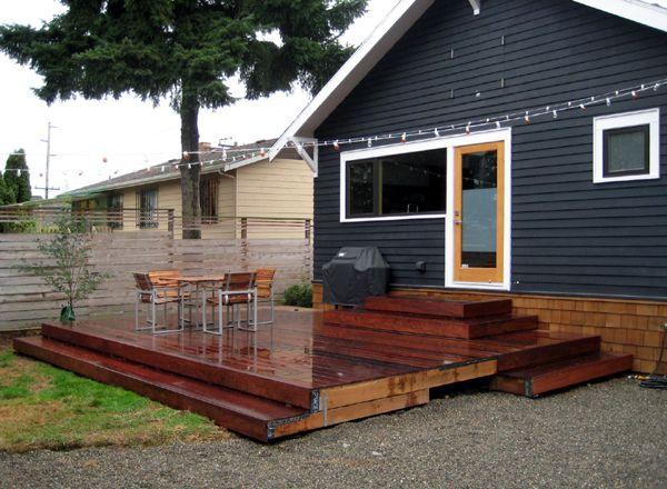 More Deck Inspiration From Chezerbey Yard Deck Patio Decks Backyard Patio Landscaping Deck