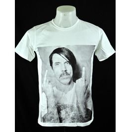 Anthony Kiedis Mid Finger Red Hot Chili Peppers T Shirt