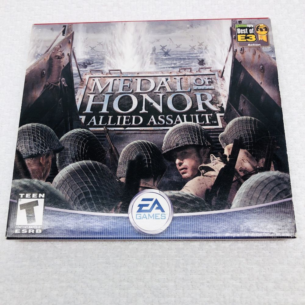 Medal Of Honor Allied Assault Pc 2002 Medal Of Honor Free Pc Games Download T Games