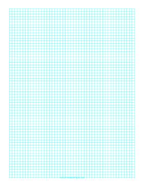 Graph Paper Template 8 5x11 Letter Printable Pdf Printable Graph Paper Graph Paper Grid Paper Printable