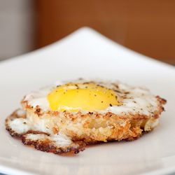 Onion Ring Fried Egg. A wonderful combination!