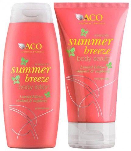 aco summer breeze body lotion