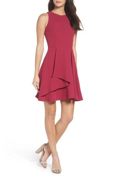 Adelyn Rae Athena Fit Amp Flare Dress Flare Dress