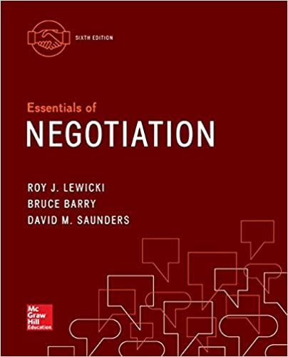 Name Test Bank For Essentials Of Negotiation 6th Edition By Roy Lewicki Edition 6th Edition Author By Roy Lewicki In 2020 Book Essentials Negotiation Web Design Quotes