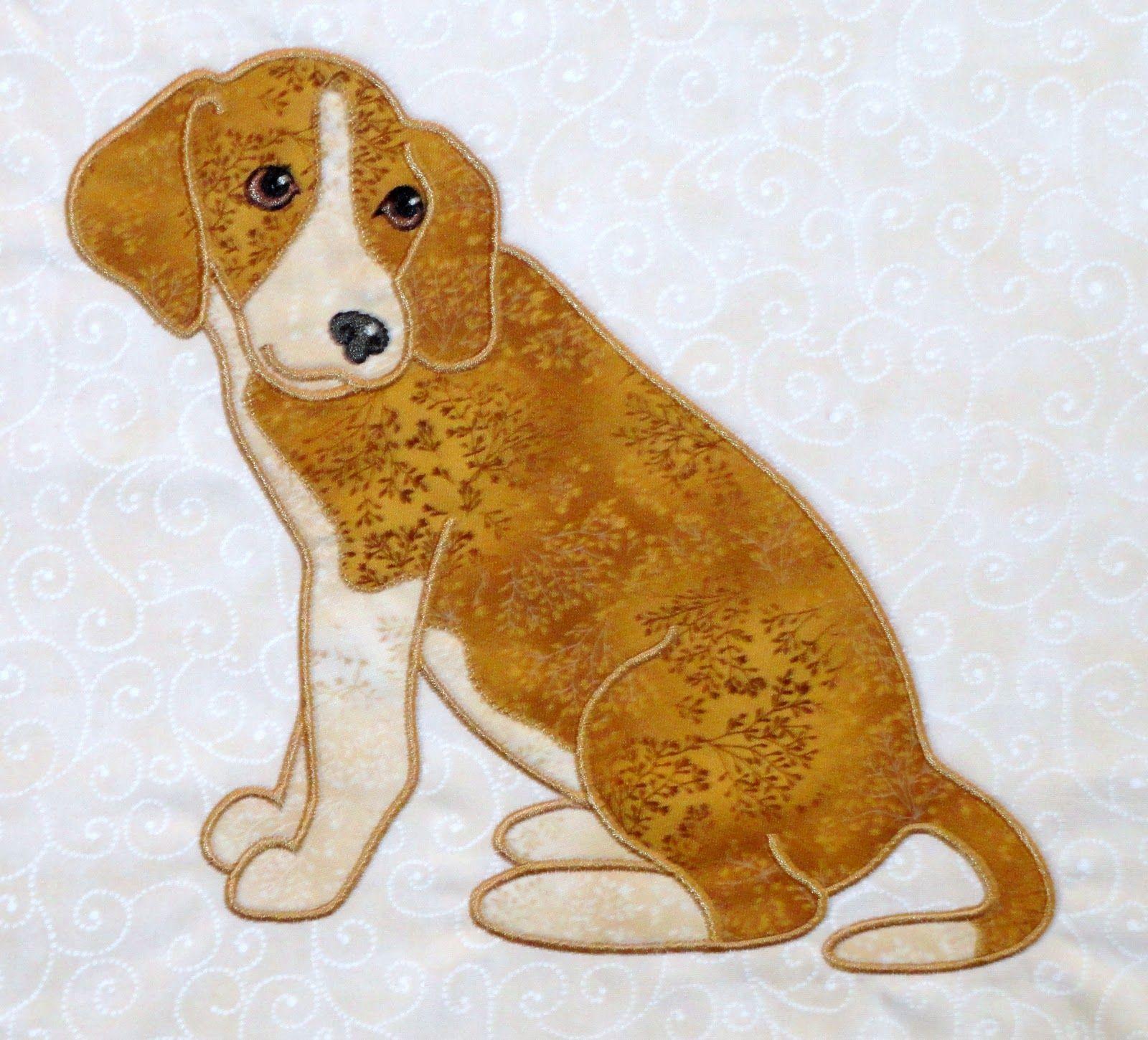 Anna\'s Awesome Appliques: Darcy Ashton\'s Small Dogs Applique Designs ...
