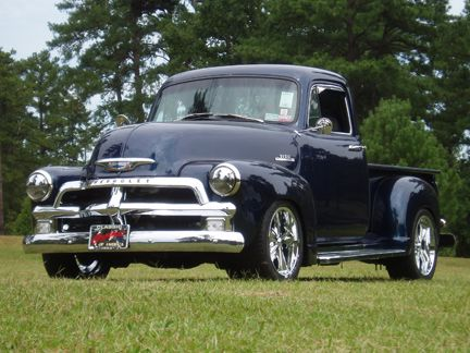 1954 Chevrolet Pick Up With Images Classic Cars Trucks