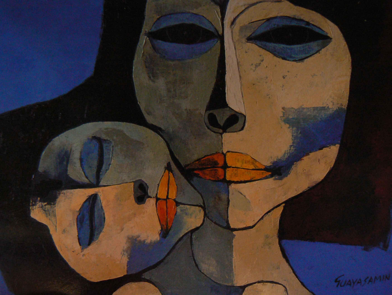 Resultado de imagen para maternidad pintura