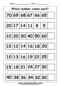 number patterns number series 1 worksheet maths maths first grade math worksheets. Black Bedroom Furniture Sets. Home Design Ideas