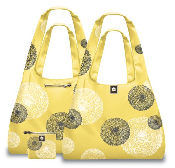 Luxe Reusable Shopping Totes by Bag the Habit