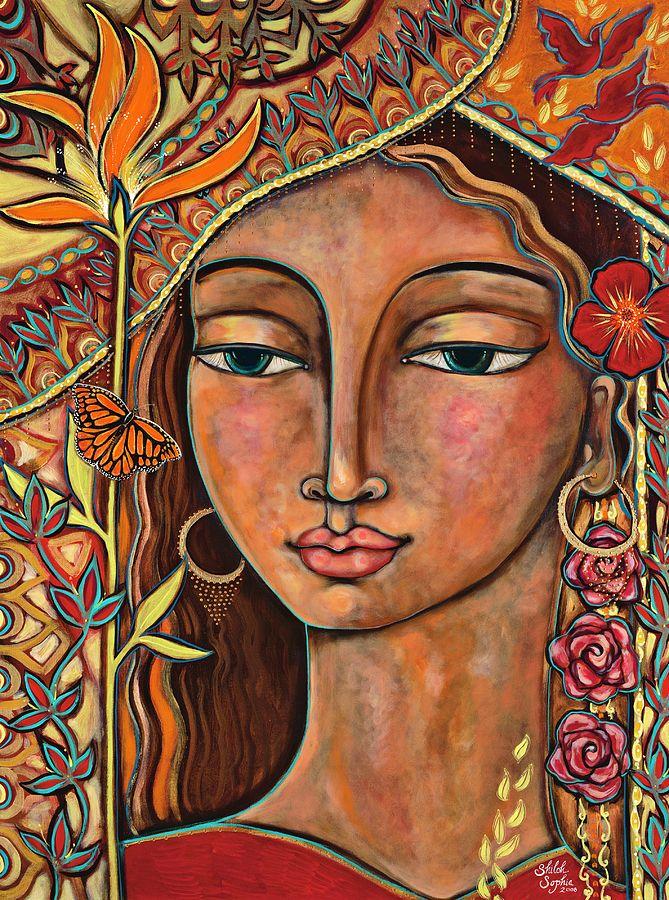 Focusing On Beauty Painting Artist Shiloh Sophia McCloud