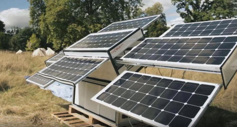 how to build solar screens