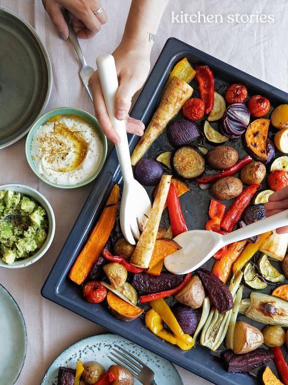 In 5 Schritten zum perfekten Ofengemüse | Stories | Kitchen Stories