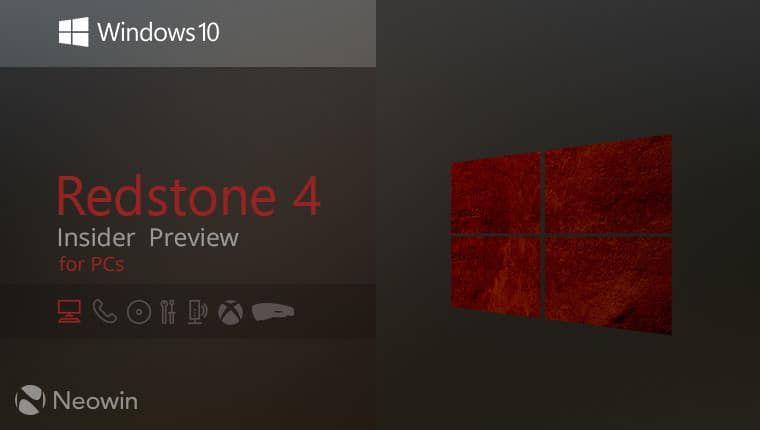 Windows 10 RS4 Build 17133 (x86/x64/) ISO #Windows10Free Download