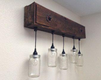 Vanity light fixture reclaimed oak barnwood by shothousestudios vanity light fixture reclaimed oak barnwood mozeypictures Image collections