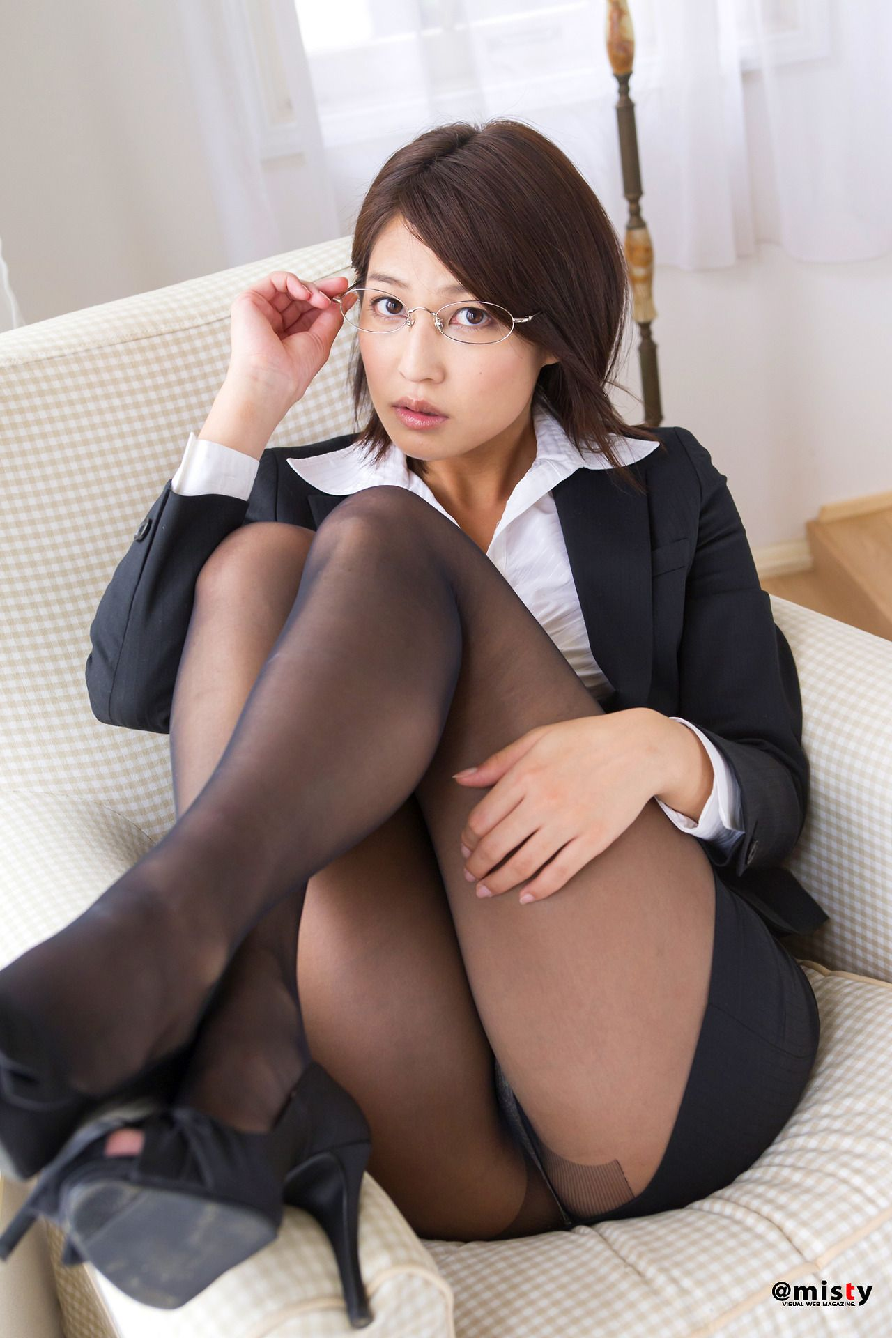 Japan women in pantyhose