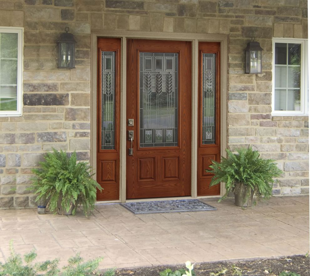 Decorative Front Doors With Sidelights Door Pinterest Front