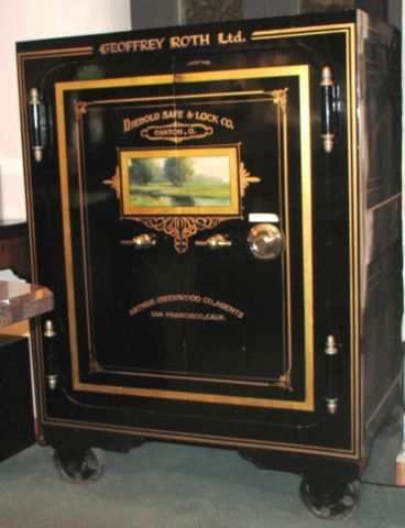 Antique Safe Usa With Images