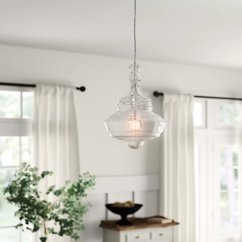 Hadrien 1 Light Single Geometric Pendant Reviews Birch Lane Geometric Pendant Pendant Lighting Traditional Furniture