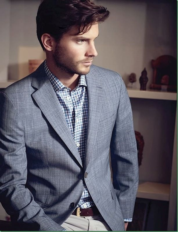 Samuel Trepanier for S.Choen | Men's Fashion | Menswear | Business Casual | Men's Outfit for Spring/Summer | Moda Masculina | Shop at designerclothingfans.com
