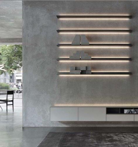 Inspiration Light Furniture Interior Design Interior Wall Design Commercial Interior Design Shelving Design