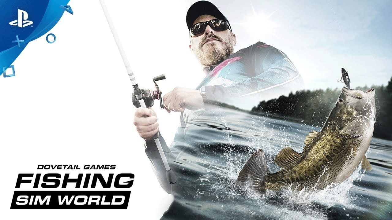 Fishing Sim World Announce Trailer PS4 gaming ps4