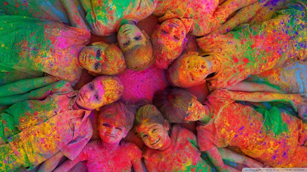 Hd 16 9 Holi Festival Of Colours Holi Colors Holi Images