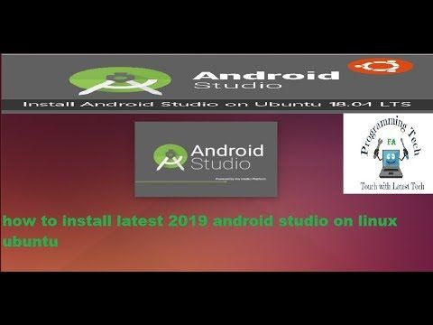 How To Install Android Studio Latest 2019 On Ubuntu Linux