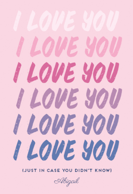 graphic regarding I Love You Printable Cards named I Get pleasure from yourself - Appreciate Card (Absolutely free Take pleasure in Playing cards Joyful