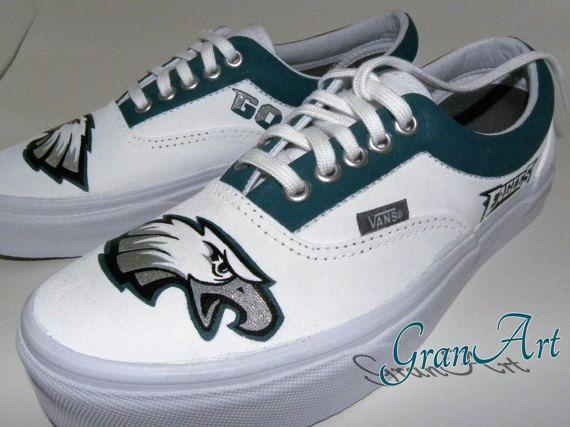 5e47be104ce9b Philadelphia Eagles Custom Shoes Women's Custom Shoes by GranArt ...