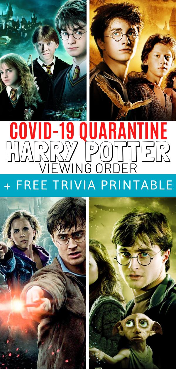 Harry Potter Movie Order Harry Potter Movie Order Harry Potter Movies Harry Potter Order
