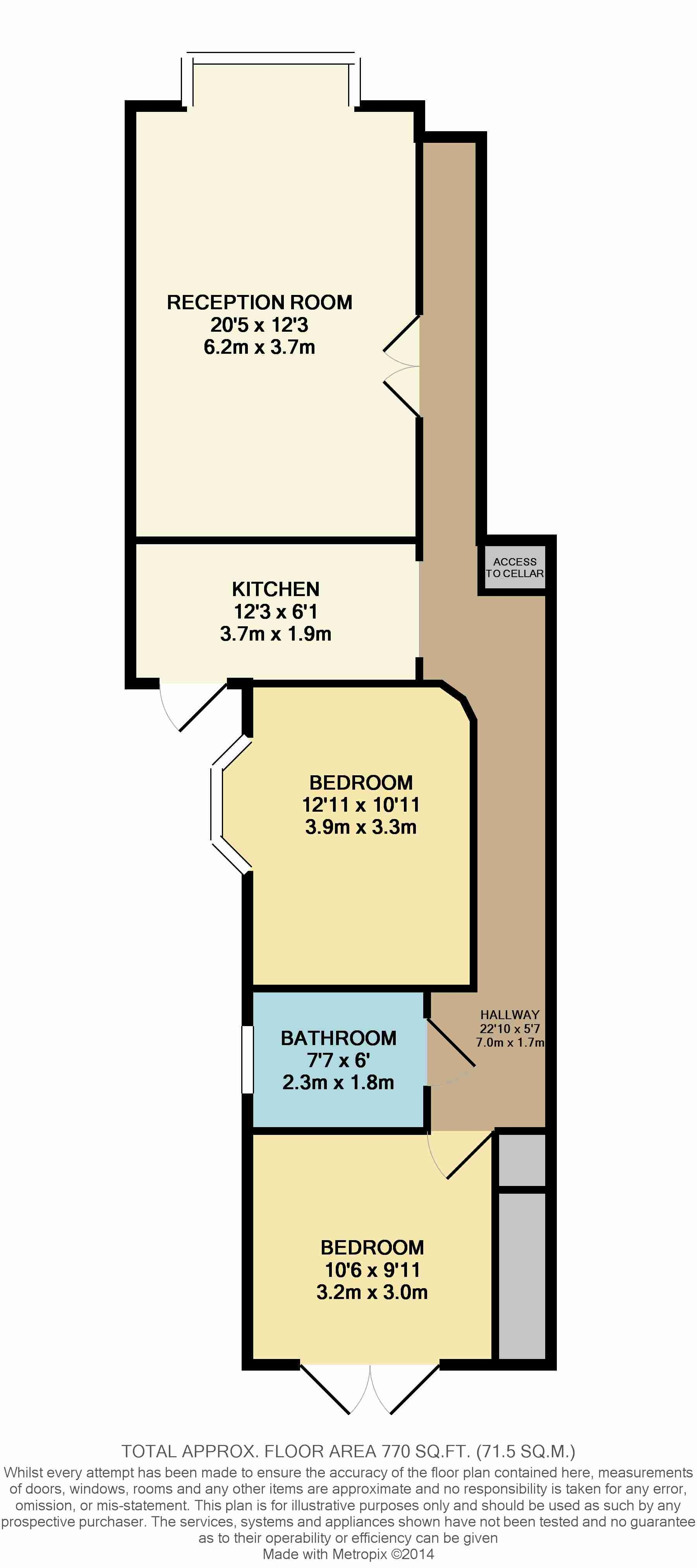 Ground Floor Two Bedroom Victorian Flat Floor Plan Google Search Floor Plans Reception Rooms Flooring