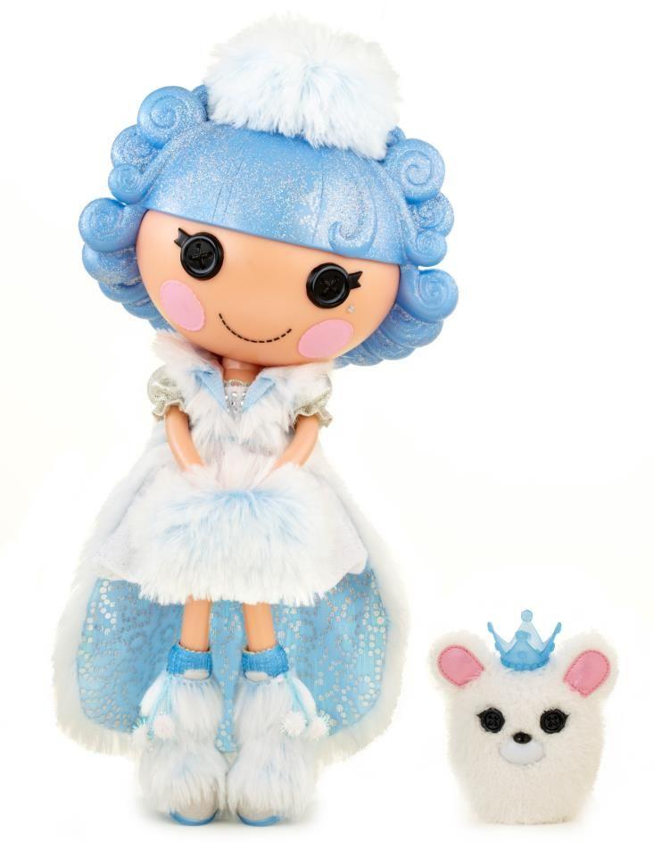 Build a Bear Lalaloopsy Princess JEWEL SPARKLES w// Dress Tiara /& Sound Girls NEW