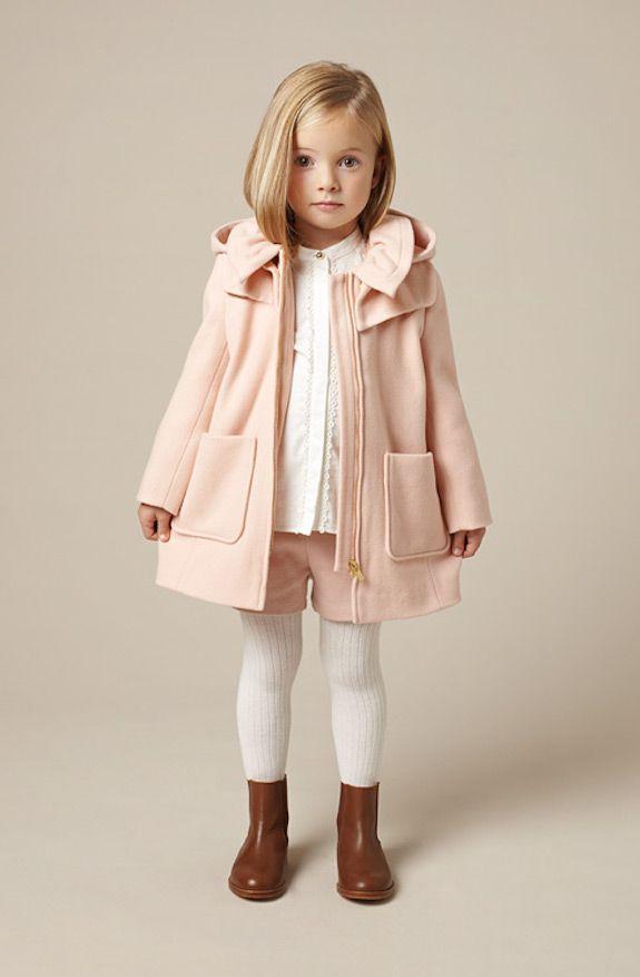 ce36b3f32 Chloé bonitos conjuntos de ropa para niñas otoño-invierno ...