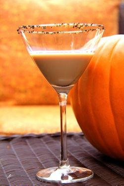 Chocolate Dipped Carmel Apple Martini - Delicious!