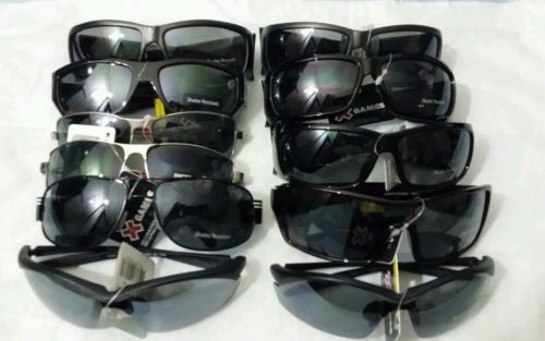 Lot of 11 StyleScience Plastic & Metal multicolor photochromi Sunglasses X Games 100 % UVA & UVB Protection. 11 pair for 9.99 starting bid.