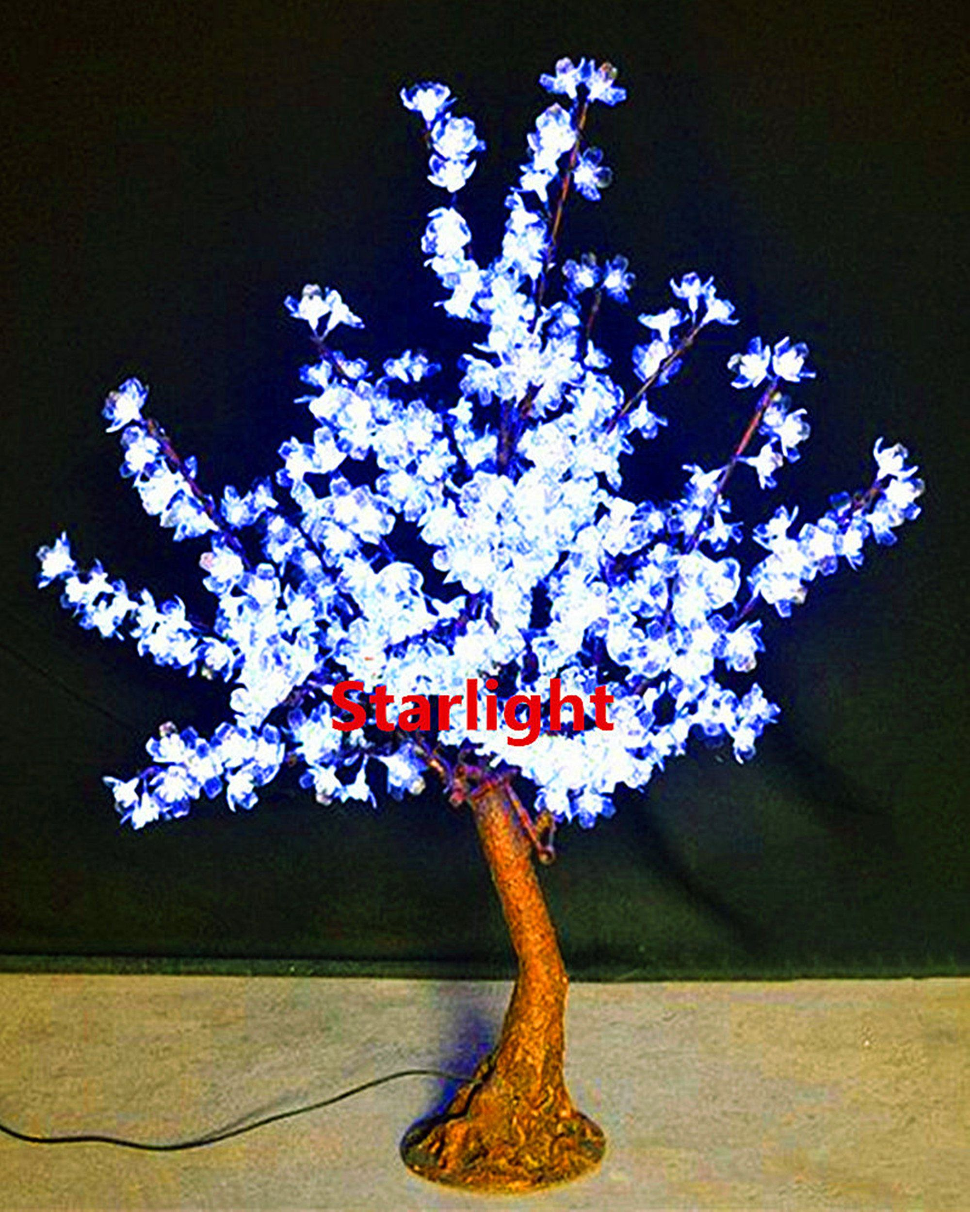 35 Led Bonsai Cherry Blossom Artificial Christmas Tree Etsy Artificial Christmas Tree Christmas Tree Lighting Blossom Trees