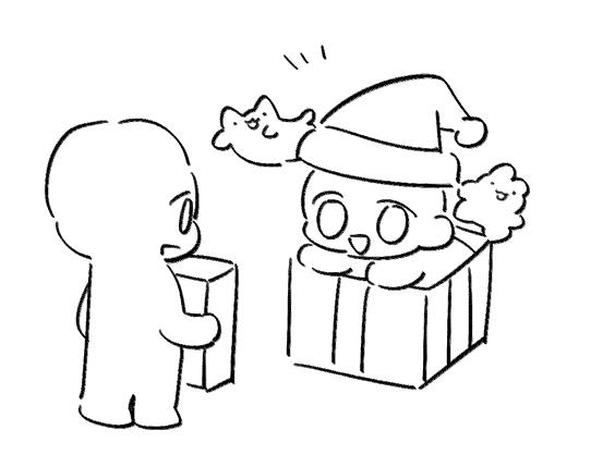 크리스마스 이메레스 모음 2020 그리기 도전 캐릭터 그리기 귀여운 예술