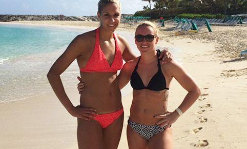 Elena Delle Donne's Beach Workout