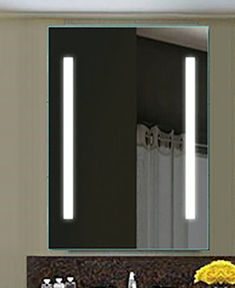 wall for lighting new zadro makeup mounted design ideas of elegant mirror mirrors vanity lighted